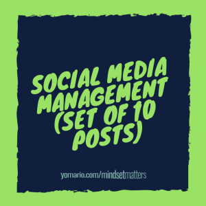 Social Media Management (Set of 10 Posts)
