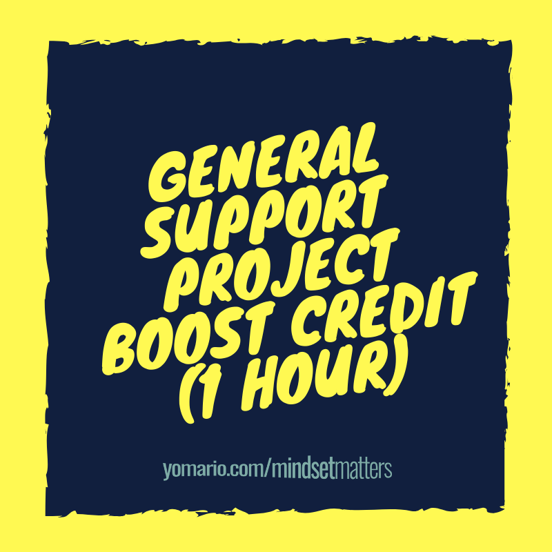 General Support Project Boost Credit