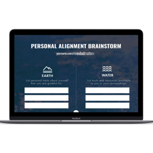 Personal Alignment Worksheet for Creative Inspiration